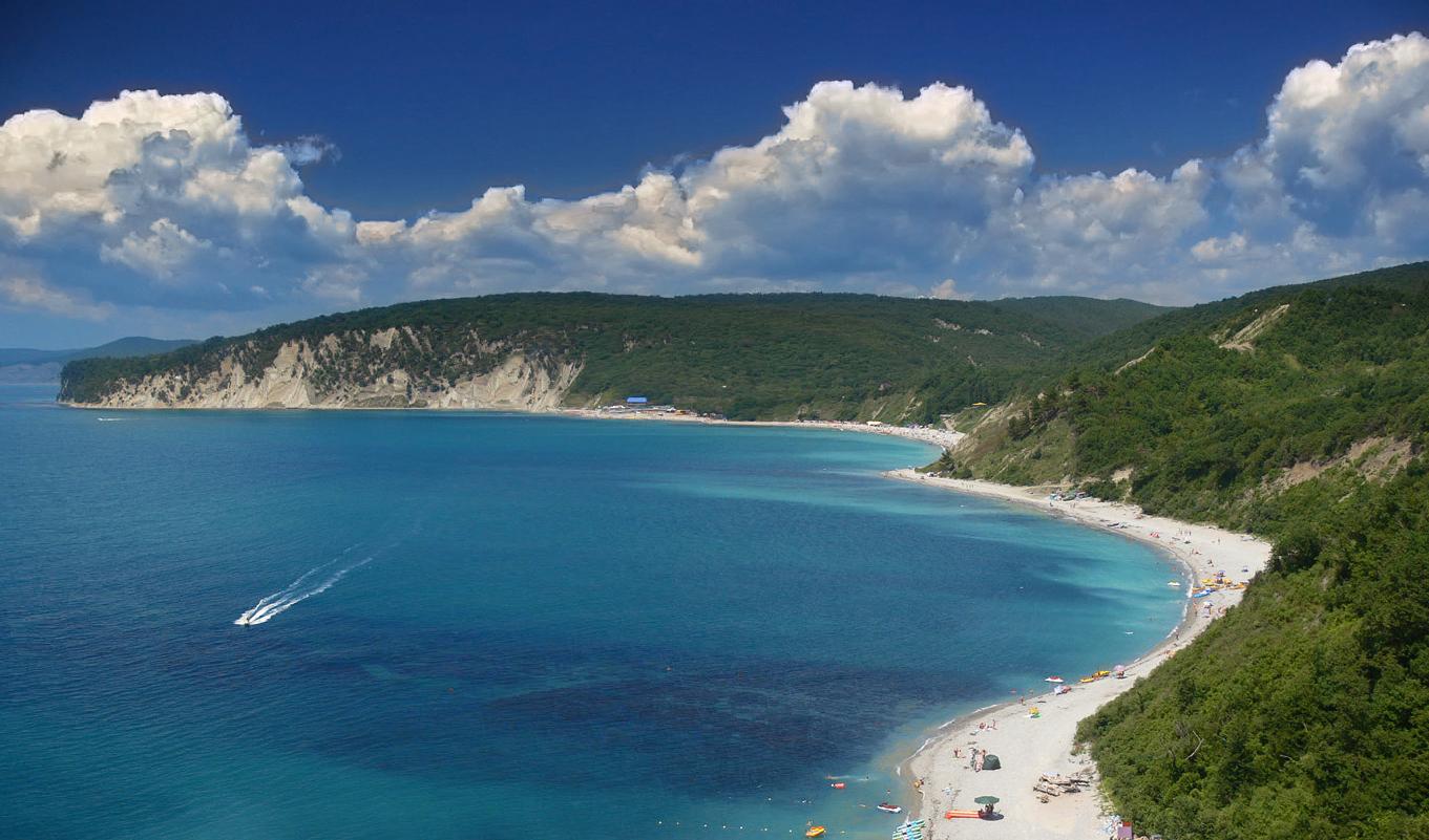 Пляж чёрное море фото